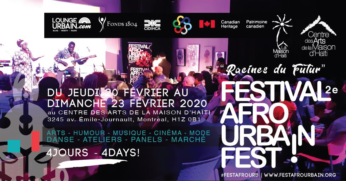 Le 2e FESTIVAL AFRO URBAIN - AFRO URBAN FEST de la Maison d'Haïti
