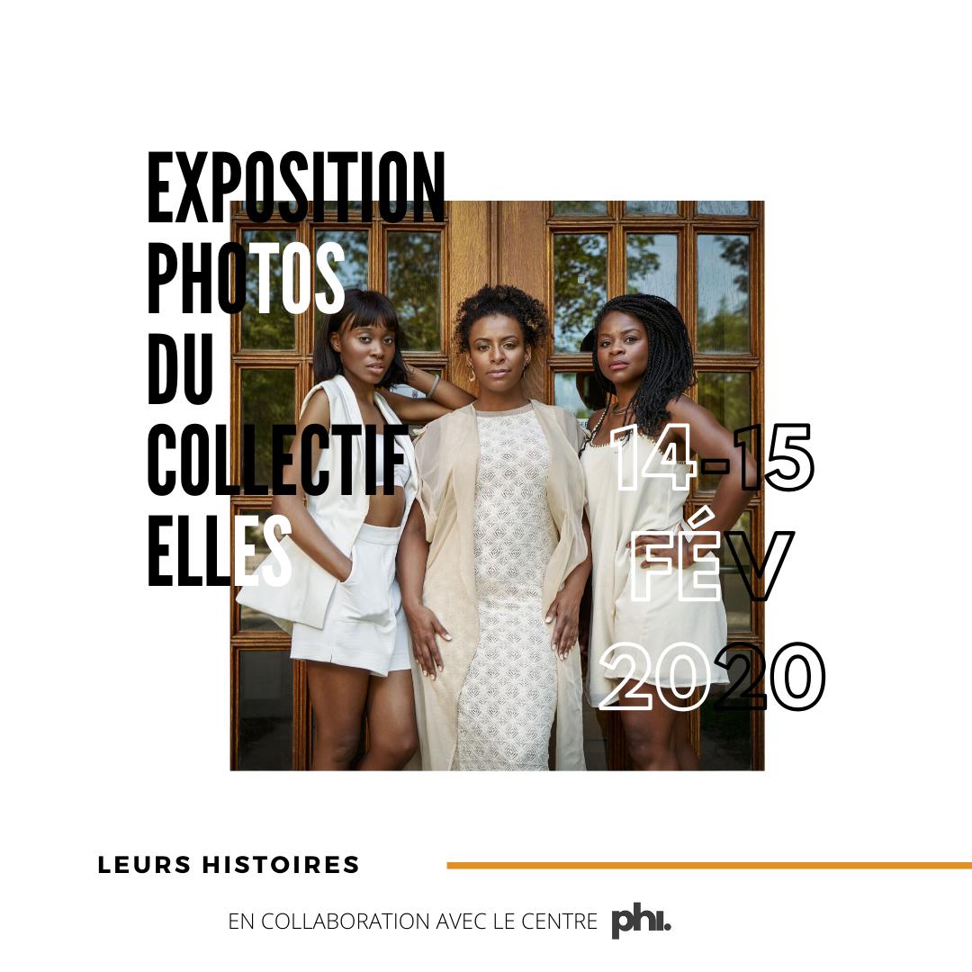 EXPOSITION PHOTOS DU COLLECTIF ELLES - LEUR HISTOIRE