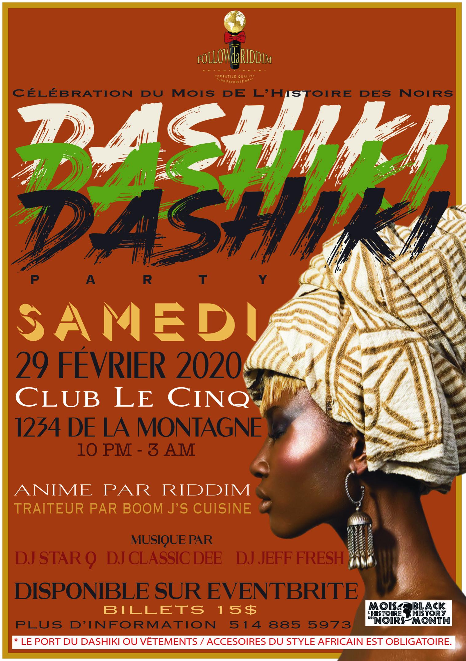 Dashiki Party