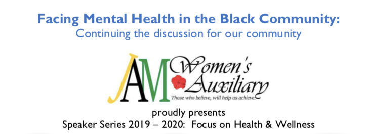 Facing Mental Health in the Black Community: Continuing the discussion.
