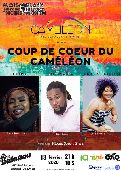 Coup de Coeur du Caméléon