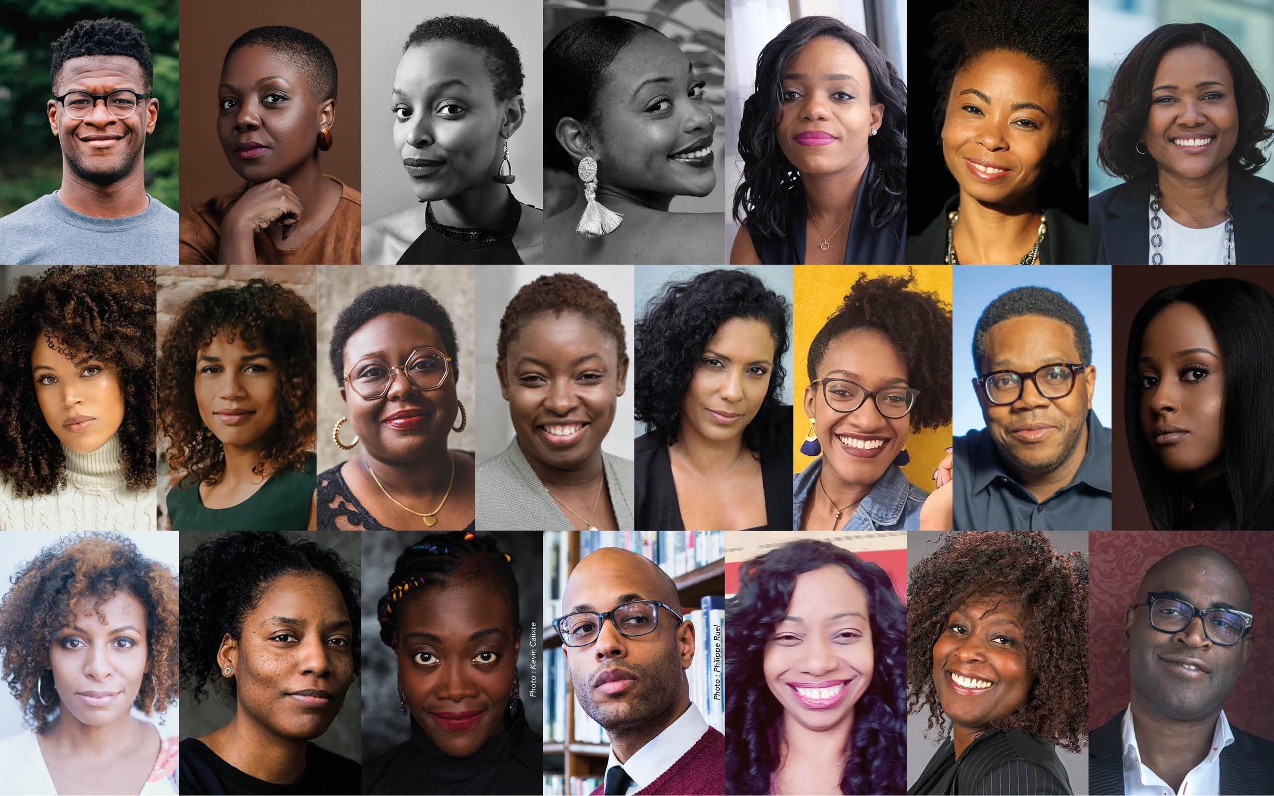 Les femmes noires comédiennes dans le cinéma, la télévision et le théâtre au Québec.