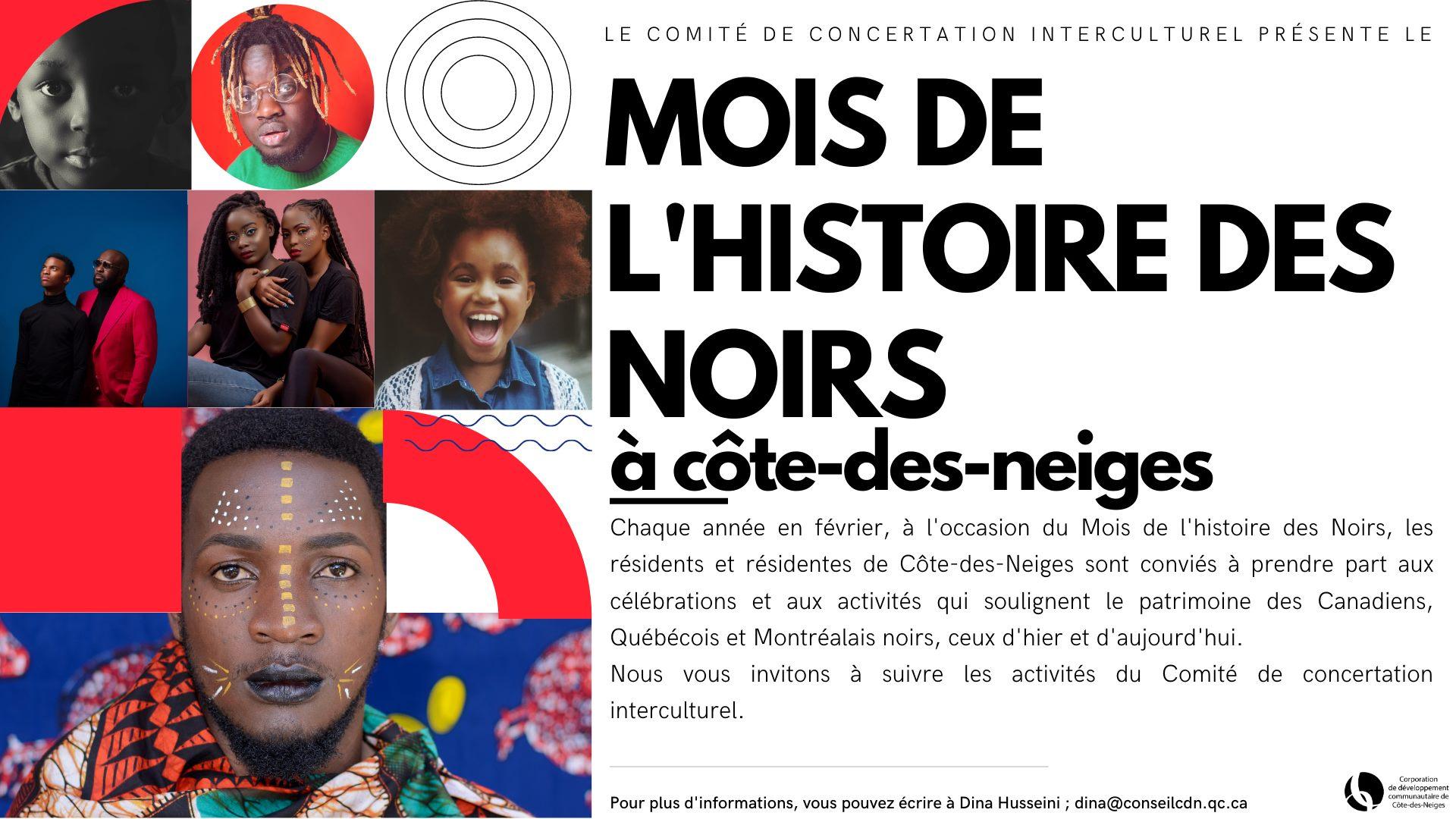 Mois de l'Histoire des Noirs à Côte-des-Neiges
