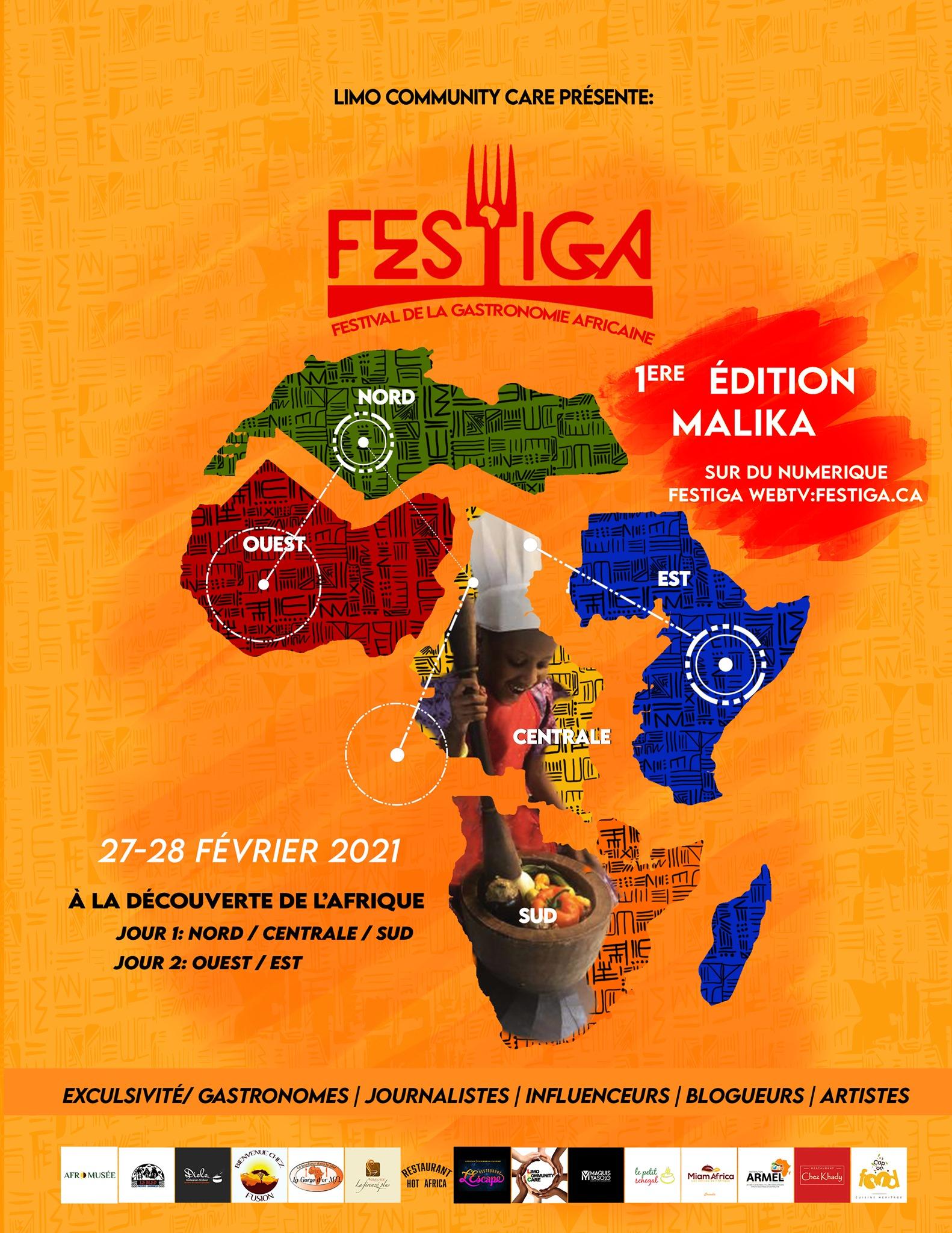 FESTIGA (FESTIVAL DE LA GASTRONOMIE AFRICAINE)