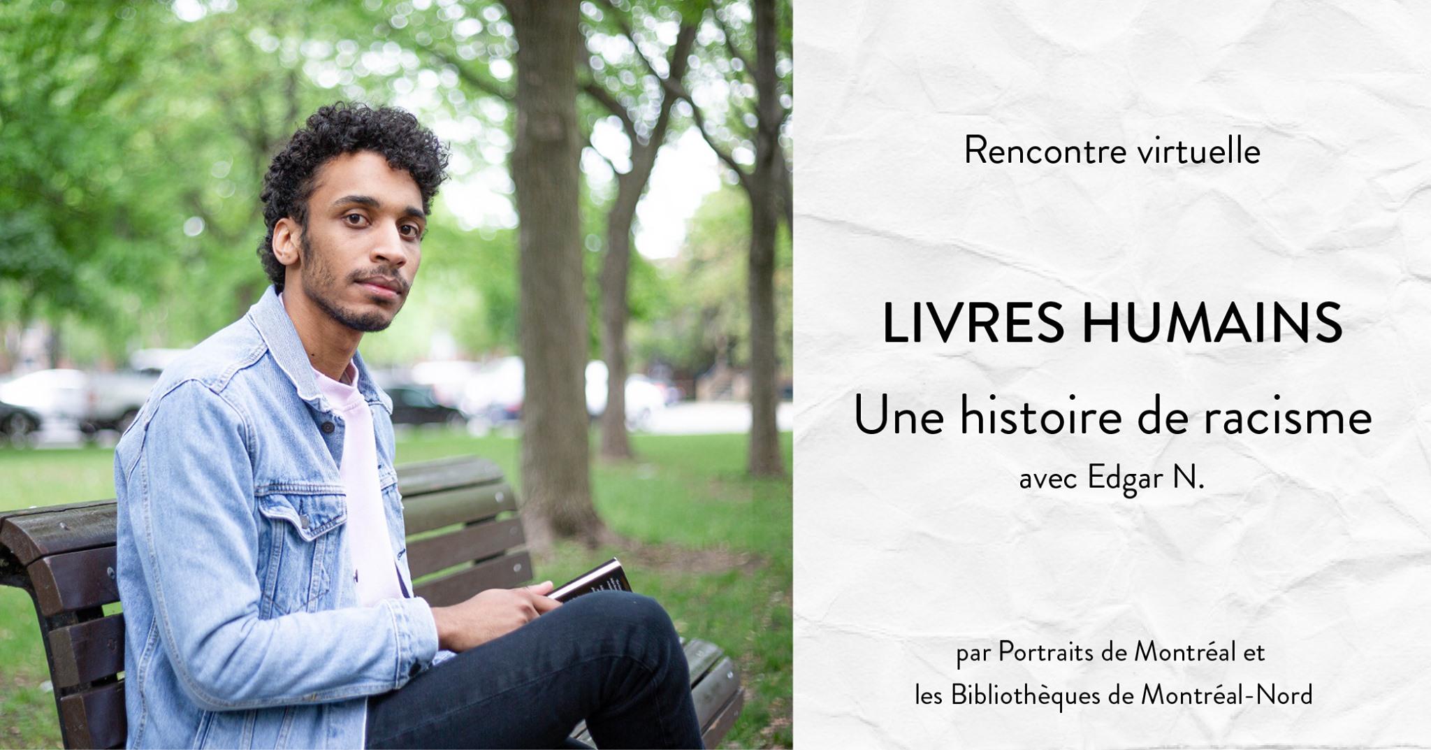 Livres humains - Une histoire de racisme