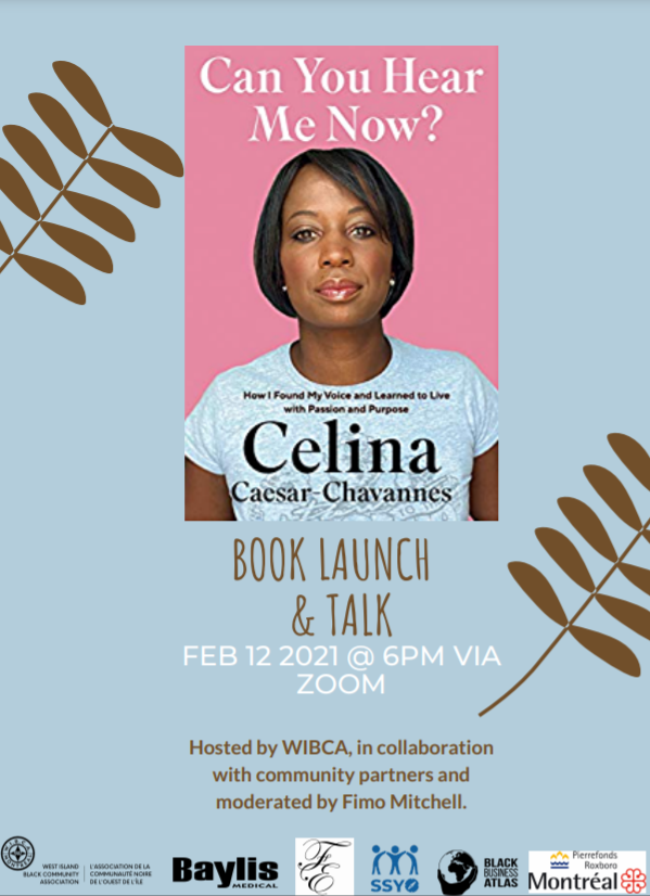 WIBCA hosts a virtual book launch and Talk with Celina Caesar-Chavannes.