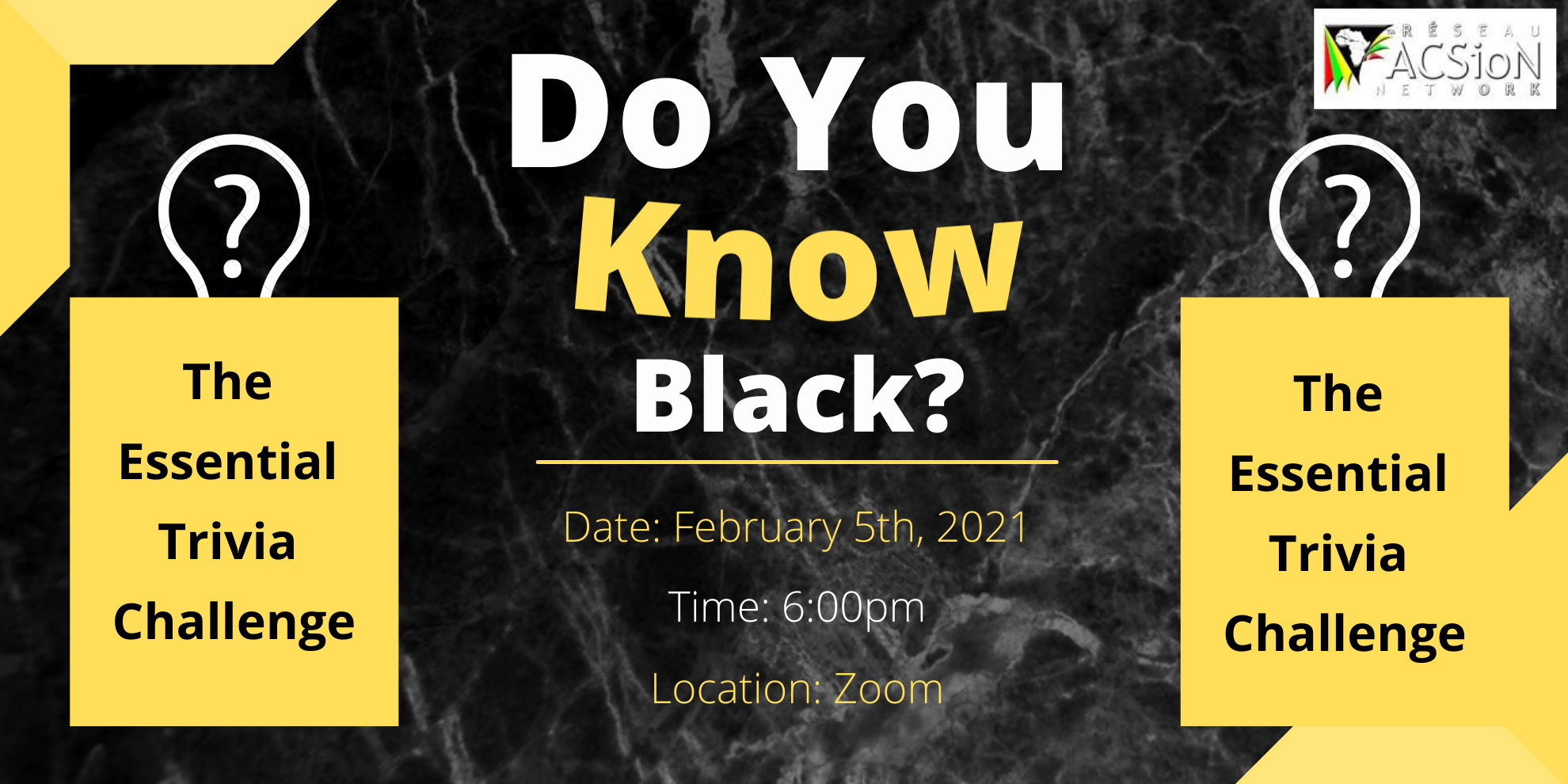 Do you know Black? The Essential Trivia Challenge