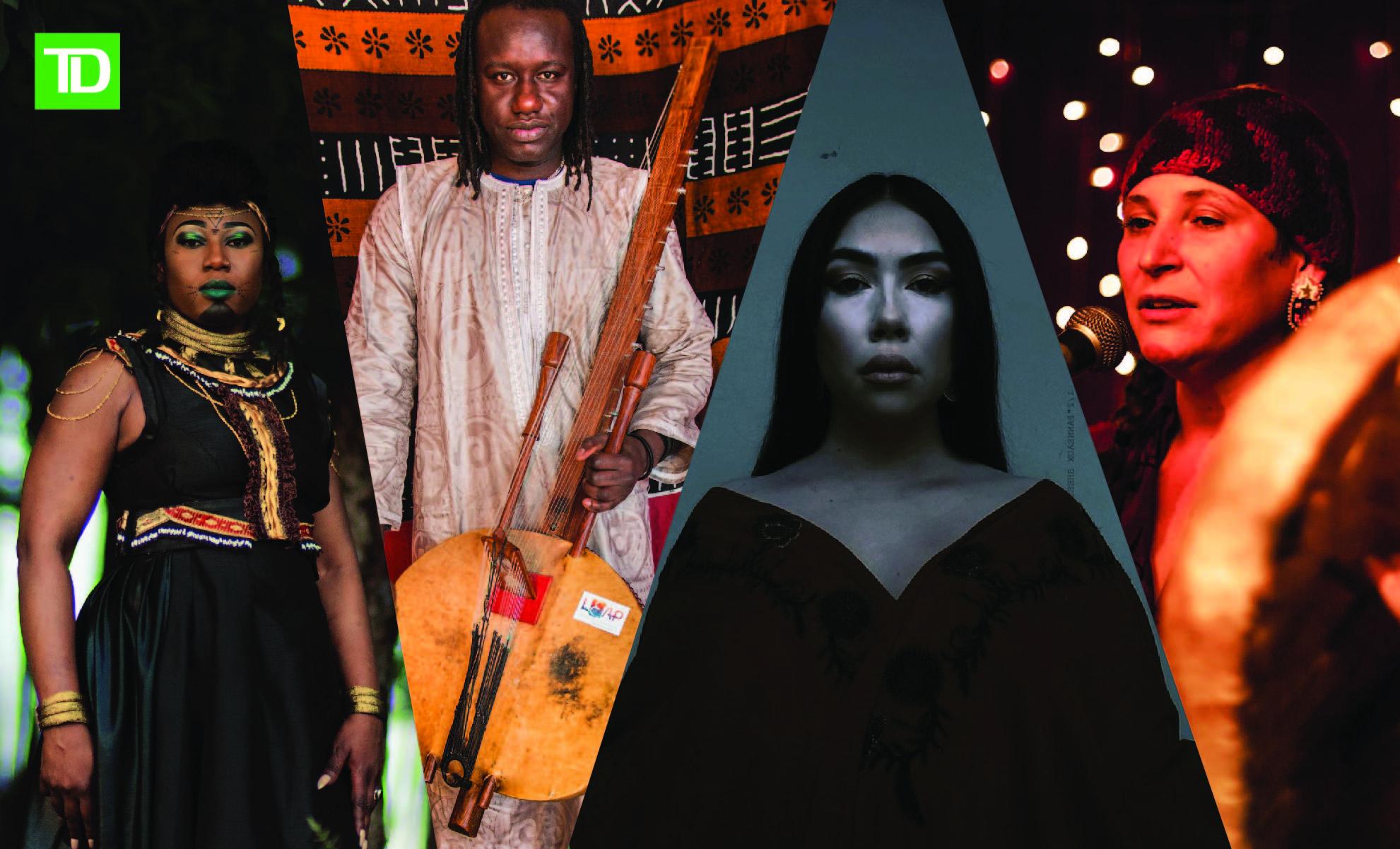 Productions Nuits d'Afrique - L'Afrique rencontre les Premières Nations en musique