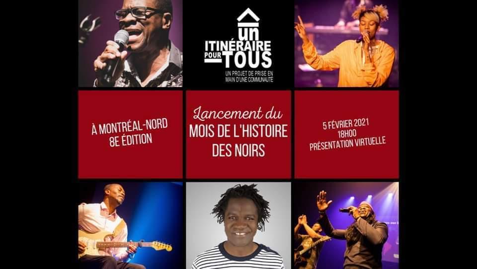 Lancement du Mois de l'Histoire des Noirs à Montréal-Nord