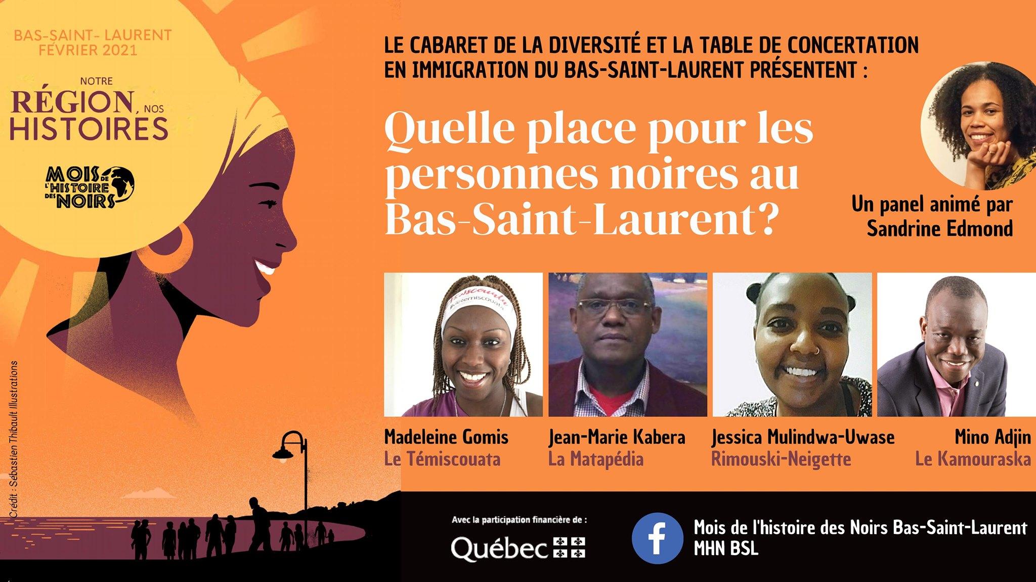 Panel de discussion - Notre région, nos histoires
